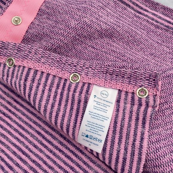 Ivivva Lululemon pink grey Village Chill scarf